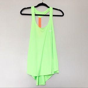 Nike - Neon Orange and Green Racerback Tank Top